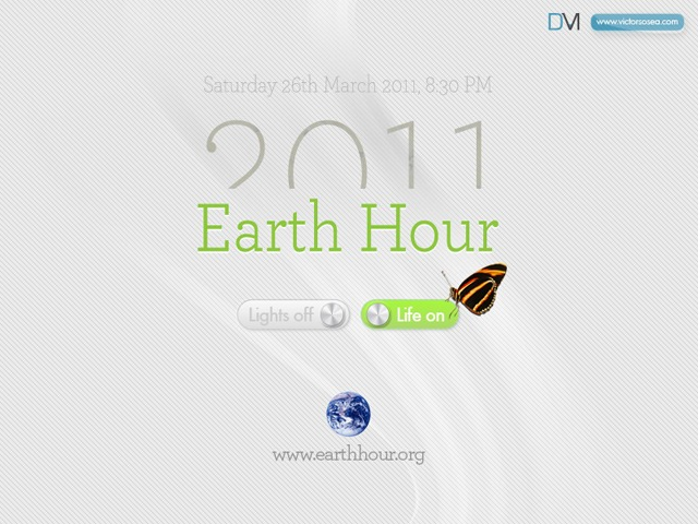 wallpaper earth hour 2011. Earth Hour 2011 Wallpapers