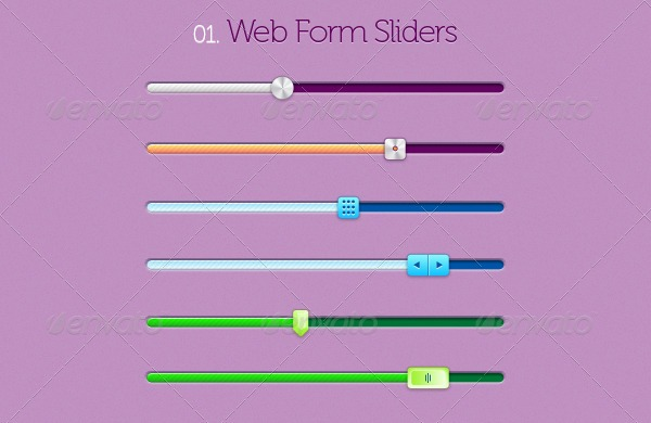 Web Form Sliders