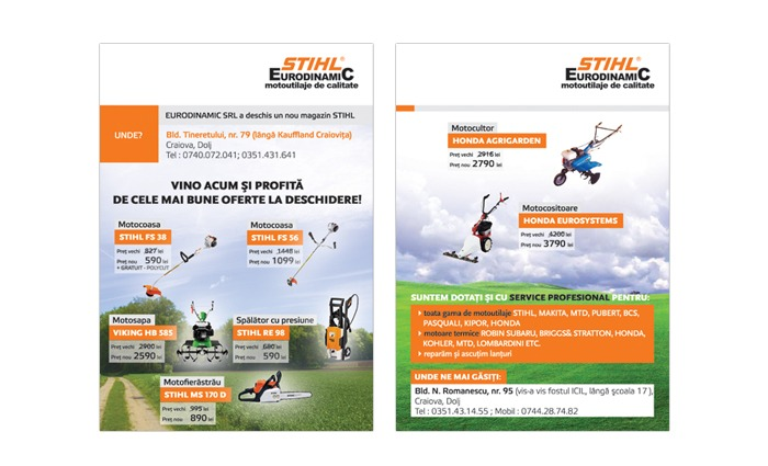 Stihl Flyer Design