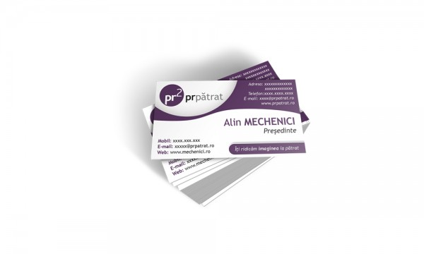 PR Patrat Business Cards