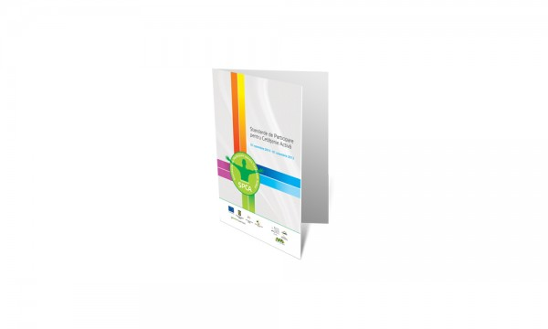 SPCA Folder and Logo Design