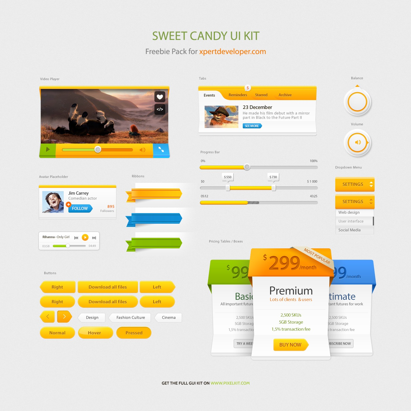 Sweet-Candy-Freebie-Free-PSD