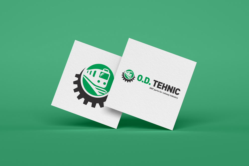OD Tehnic Logo Design by Victor Sosea